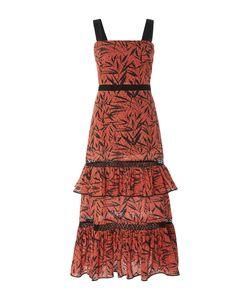 Prabal Gurung   Tiered Ruffle Midi Dress