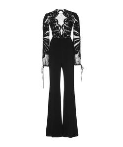 Zuhair Murad   Embroidered Long Sleeve Jumpsuit