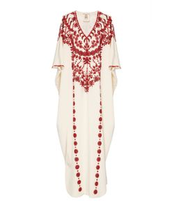 Figue | Embroidered Cassia Caftan