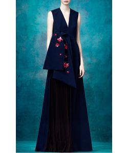 Delpozo | Sleeveless Gown With Front Bow