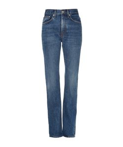 Brock Collection | Wright Dark Vintage High Rise Straight Jeans