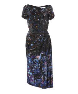 Zuhair Murad   Stars Short Sleeve Dress