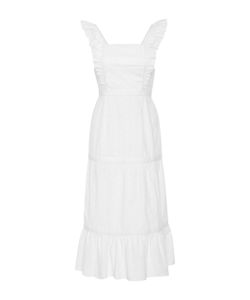 Piamita | Arianna Tie Eyelet Dress