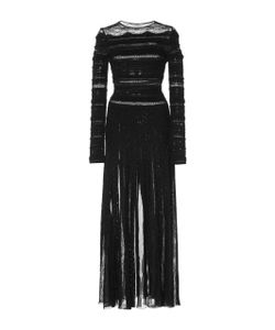 Zuhair Murad   Bead Embroidered Midi Dress