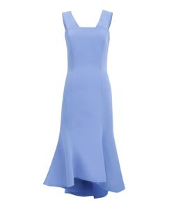 GINGER & SMART   Carmen Fluted Midi Dress