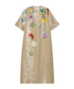 Delpozo | Embroidered Raffia Coat