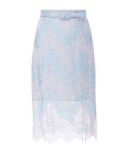 Carven | High Waisted Lace Skirt
