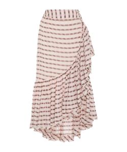 Ulla Johnson | Gretchen High-Rise Cotton Wrap Skirt