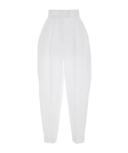 Delpozo | High Waisted Pleated Trousers