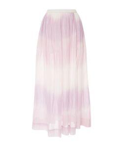 Lemlem | Berhan Degrade Cotton-Gauze Maxi Skirt