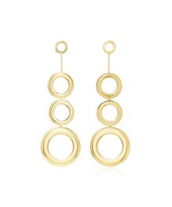 Joanna Laura Constantine | Plated Grommets Statement Earrings