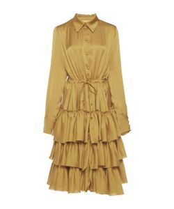 Martin Grant | Ruffled Shirt Dress