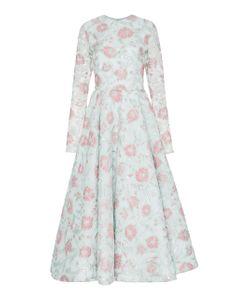 Christian Siriano | Jacquard Tea Length Dress