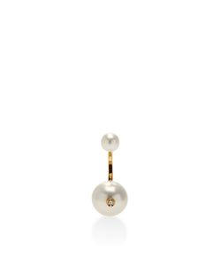 Delfina Delettrez | Double Pearl Single Earring