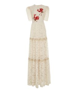 Martha Medeiros | Carmela Embroidered Lace Dress