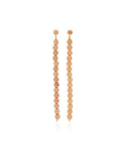 Carolina Bucci   Florentine Beaded Column Earrings