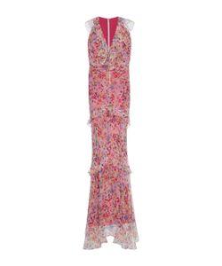 Saloni   Rita Ruffled Gown