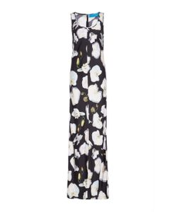 Jonathan Cohen | Abstract Orchid Maxi Dress
