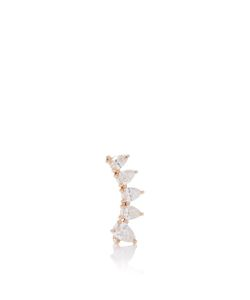 Anita Ko | Left Pear Diamond Floating Earring