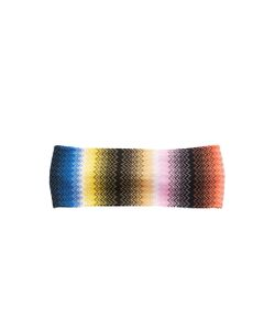 Missoni Mare | Crochet-Knit Multicolored Headband
