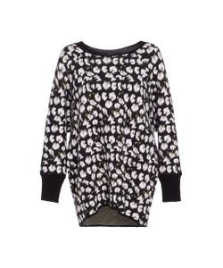 Jonathan Cohen   Abstract Orchid Jacquard Pullover