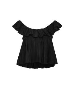 Tome | Two Tiered Ruffle Top