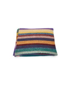 The Elder Statesman | Patterned Cashmere Blanket