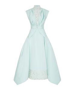 Christian Siriano | Embroidered Overlay Dress