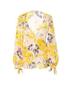 Alice McCall | Passionfruit Bow Sleeve Blouse