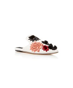 SANAYI 313   Saponaria Embroidered Canvas Slippers