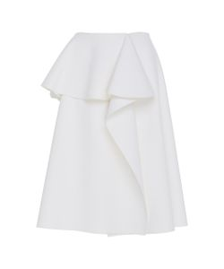 Dice Kayek | Asymmetric Knee Length Skirt