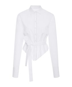 Tome | Belted Corset Shirt