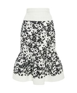 Carolina Herrera | Ruffled Hem Skirt
