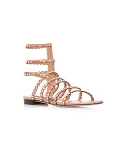 Sergio Rossi | Studded Suede Sandals