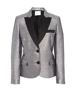 Racil | Mick Fitted Tuxedo Jacket In Brocard
