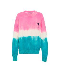 The Elder Statesman | Dyed Palm Tree Sweater