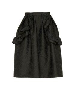 Dice Kayek | Ruffled A-Line Skirt