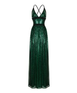 Rasario   Sequin Embroidered Mesh Gown