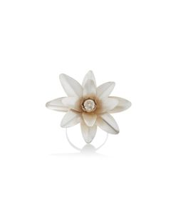 Rodarte | Lotus Flower Arm Cuff With Swarovski Crystal Detail