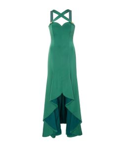 Alexis Mabille | Cross Front High Low Gown
