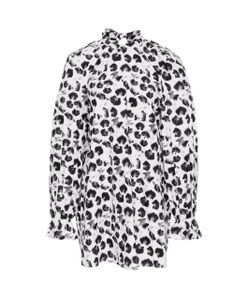 Jonathan Cohen | Inverse Abstract Orchids Blouse