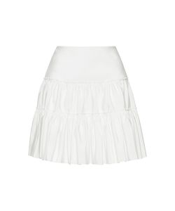 Giambattista Valli | High Waist Pleated Mini Skirt