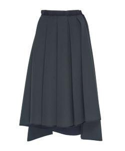Dice Kayek | Pleated Asymmetrical Skirt