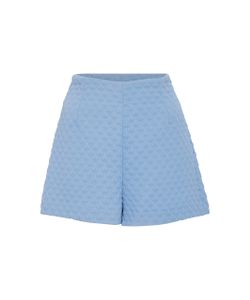 Cacharel | High Waisted Quilted Shorts
