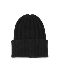 The Elder Statesman | Short Bunny Echo Ribbed Cashmere Beanie