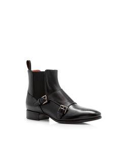 Santoni   Double Monk Ankle Boot