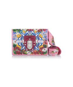 Dolce & Gabbana | Twill-Trimmed Printed Shoulder Bag