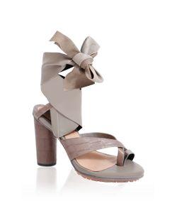 GINGER & SMART   Coretta Ankle Wrap Heel