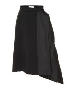 Dice Kayek | Asymmetrical Pleated Skirt