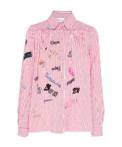 Dice Kayek | Bead Embroidered Long Sleeve Shirt
